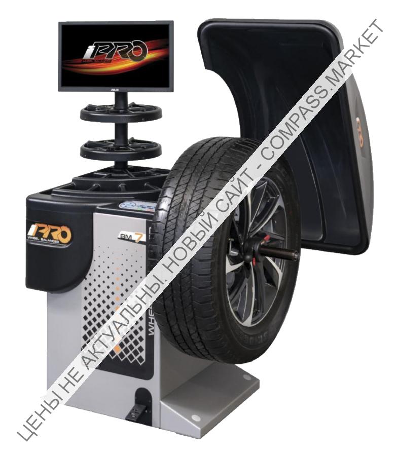 Балансировочный стенд с бесконтактным определением размеров колеса BM5 BM7