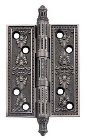Петля Дверная Универсальная, Archie, Черненое Серебро, Размер L