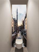 Фотообои в туалет - Прогулки по Амстел магазин Интерьерные наклейки