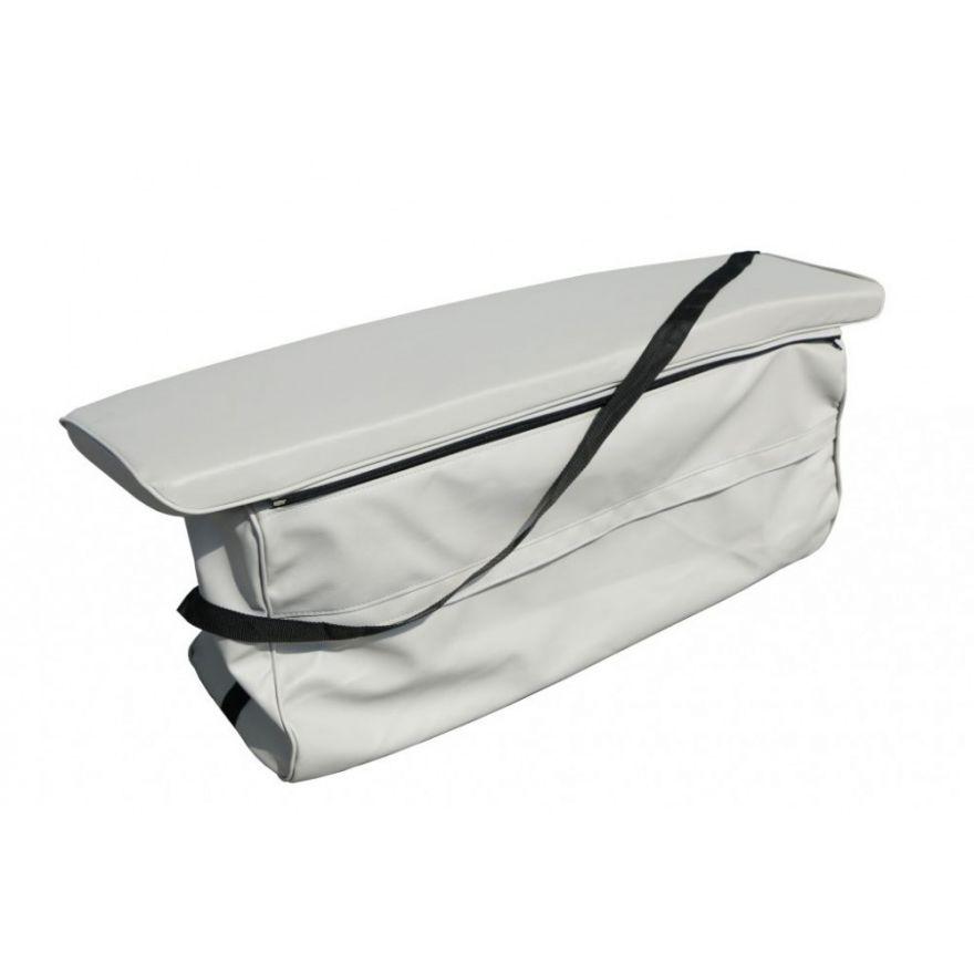 Накладка мягкая на банку с сумкой экокожа
