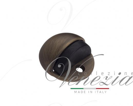 Ограничитель дверной напольный Venezia ST4 матовая бронза