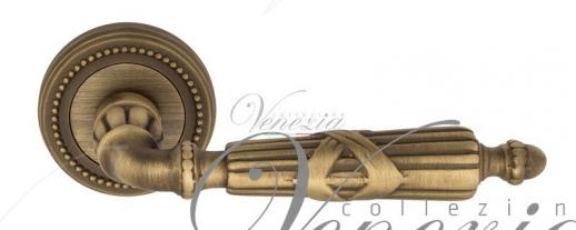 """Дверная ручка Venezia """"ANNETA"""" D3 матовая бронза"""