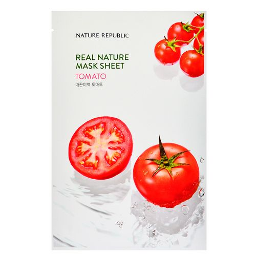 Маска для лица листовая с экстрактом томата Nature Republic (Нейчер Репаблик) 23 г