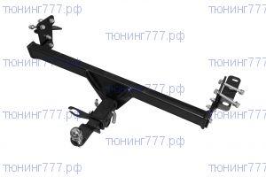 Фаркоп (тсу) PT-G, крюк под квадрат, тяга 1.6т