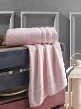 Полотенце махровое DERIN 50*90 (розовое) Арт.3278-4