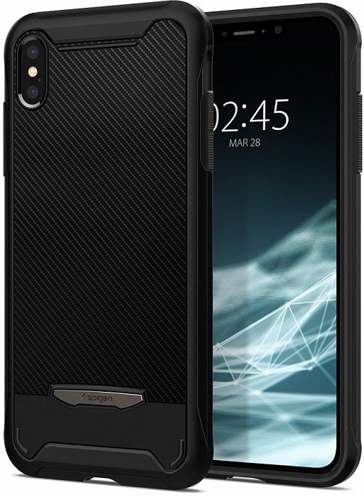 Чехол SGP Spigen Neo Hybrid NX для iPhone Xs / X черный