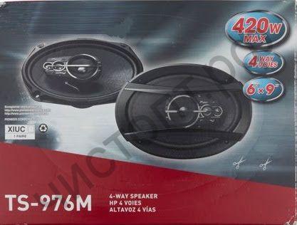 Автоколонки P 6х9, Мощность 400w-1200w, решетки в комплекте (2шт)