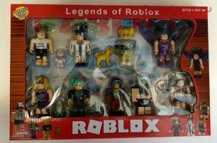 ROBLOX Роблокс LEGENDS 9 фигурок +5 акссесуаров