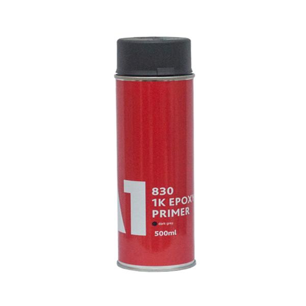 A1 830 1K EPOXY PRIMER Dark Grey Эпоксидный грунт в аэрозоли темно-серый, 500мл.