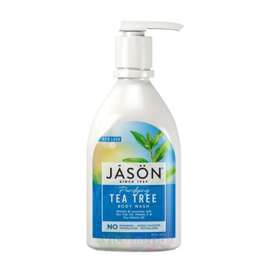 "Jason Гель для душа ""Чайное Дерево"" Tea Tree Purifying Body Wash, 887 мл"