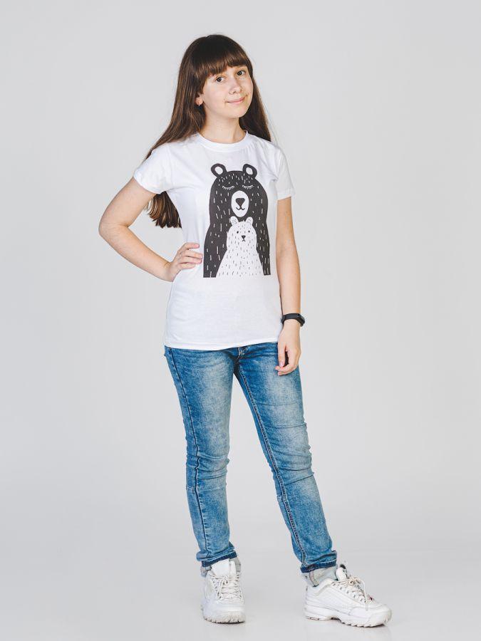 Мишки футболка женская
