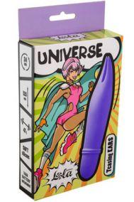 Мини-вибратор Lola Universe Teasing Ears фиолетовый, 10,5*2,4 см