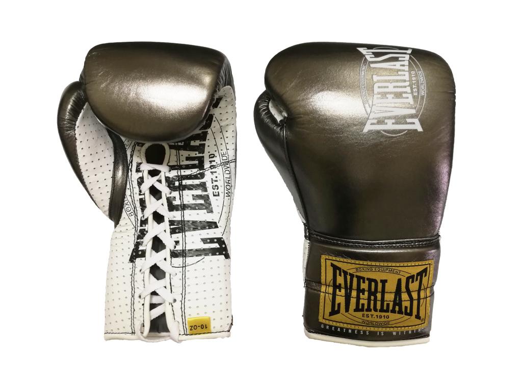 Перчатки Everlast  боевые 1910 Classic 10oz металл, артикул P00001906