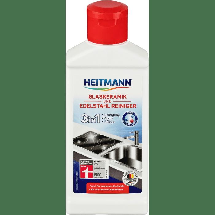 Heitmann Лосьон для чистки стеклокерамики и изделий из нержавеющей стали 250 мл