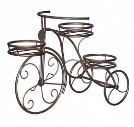 Подставка для цветов Велосипед на 3 горшка