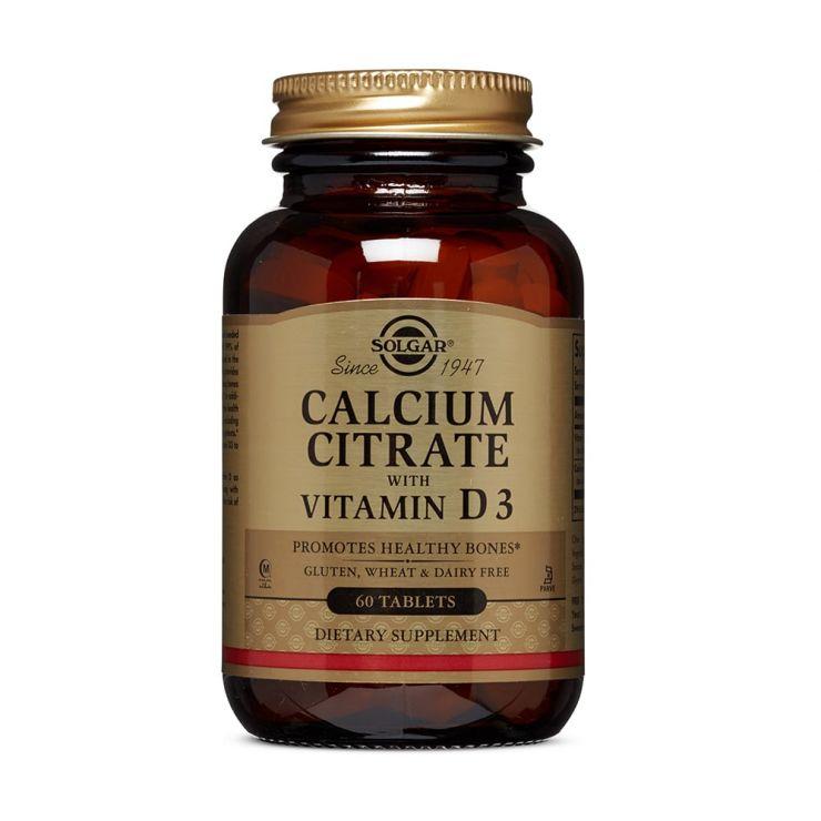 Солгар Цитрат Кальция с витамином Д3