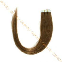 Натуральные волосы на липучках №012 (50 см)