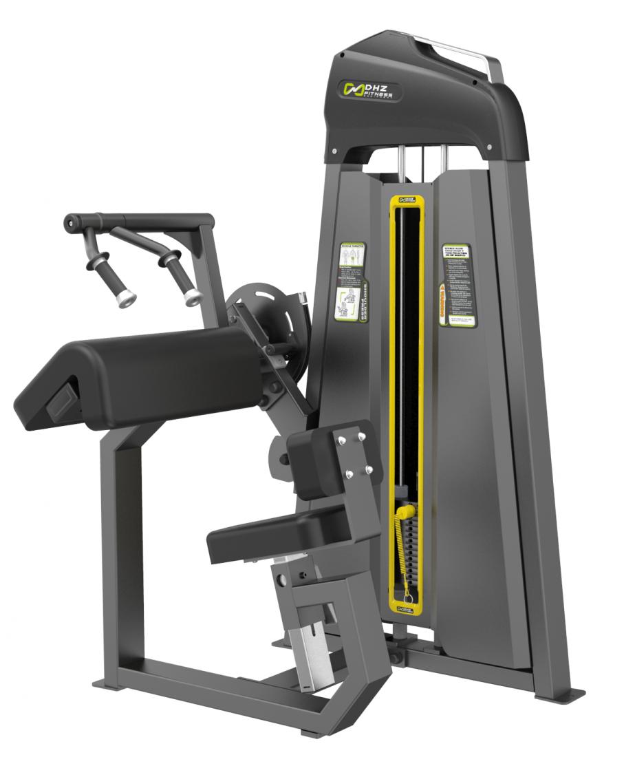 E-3028 Трицепс-машина сидя. Наклонная парта (Tricep Extansion). Стек 64 кг.