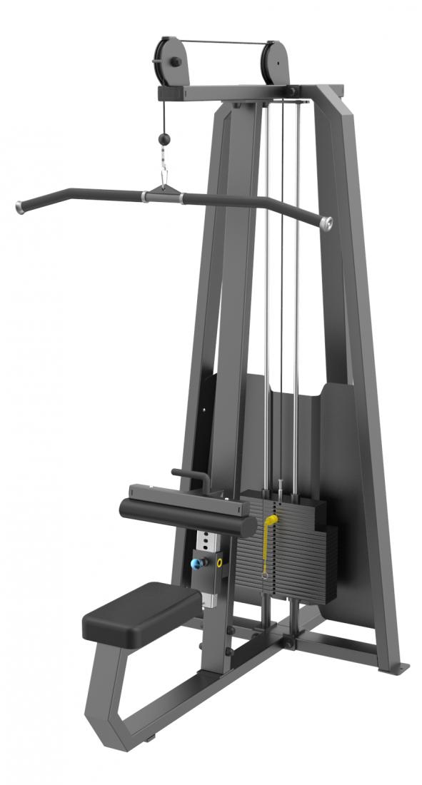 E-3035 Тяга сверху. Вертикальный блок (Pulldown). Стек 109 кг.