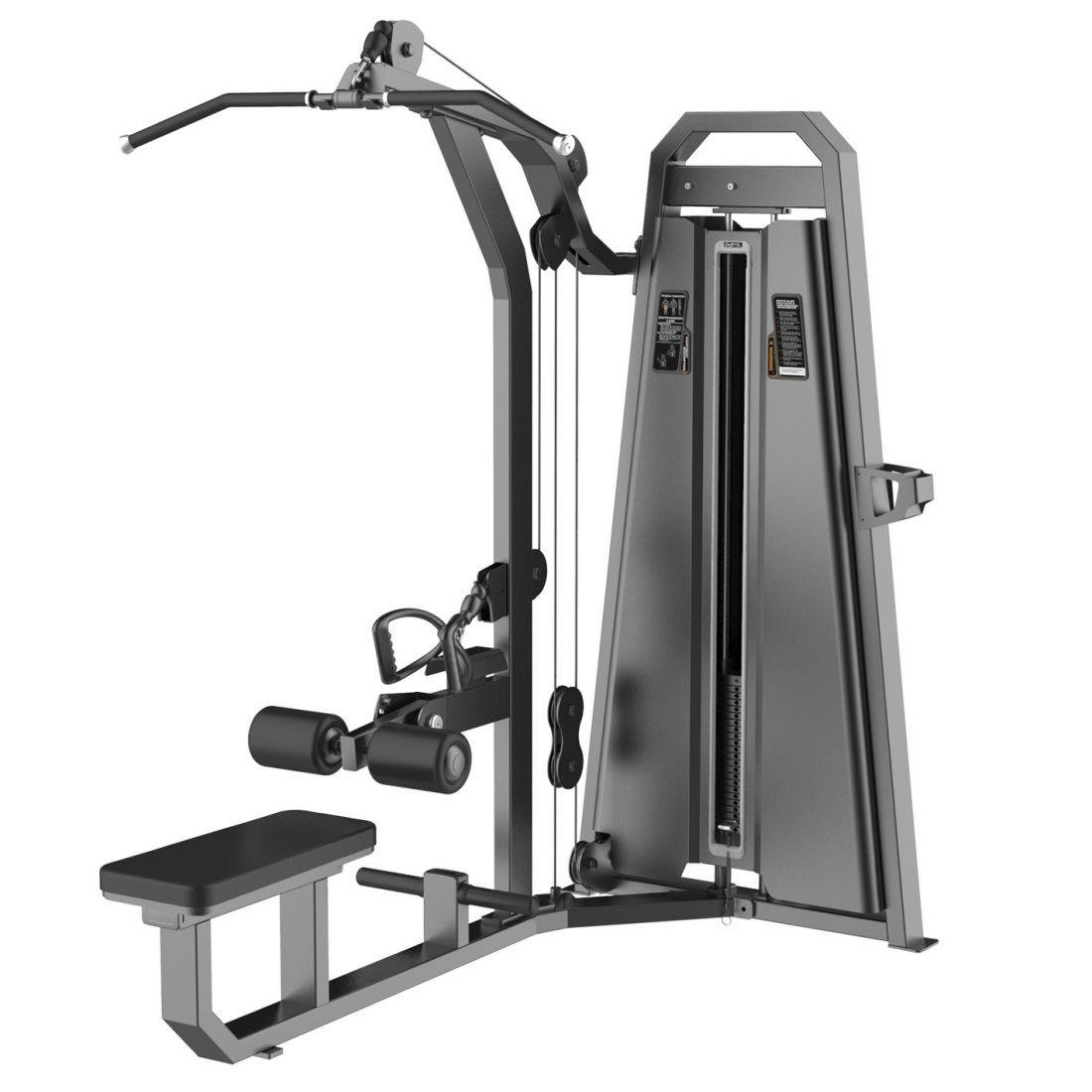 E-3085 Тяга сверху/Гребная тяга (Pulldown/Low row). Стек 110 кг.