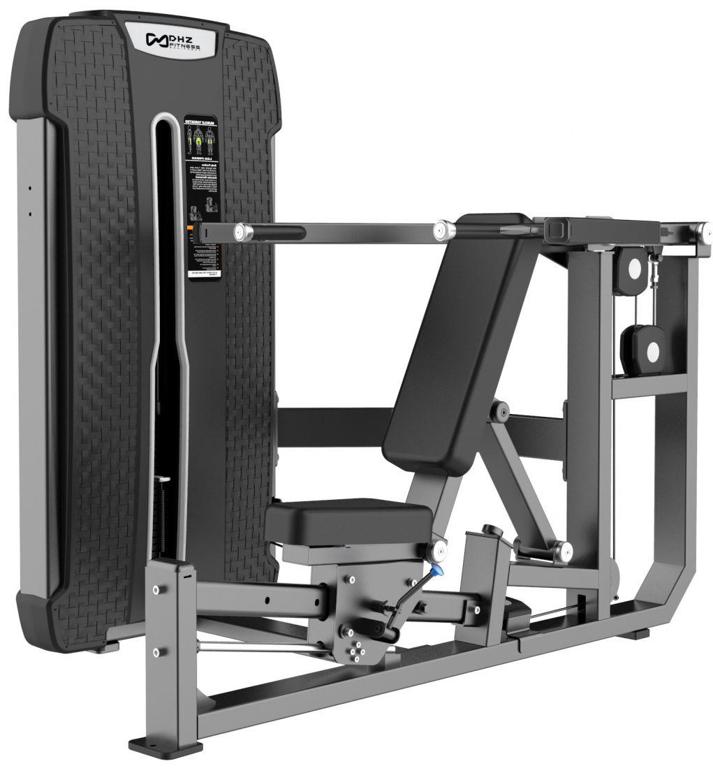 E-4084A Жим от груди и плеч Chest & Shoulder Press. Стек 110 кг.