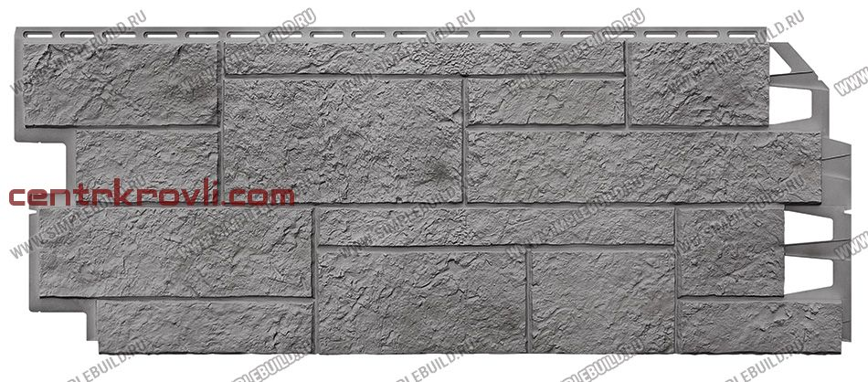 Фасадная панель «VOX», Solid Sandstone Light Grey 1000*420