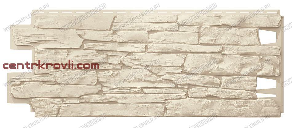 Фасадная панель «VOX», Vilo Stone слоновая кость 1000*420