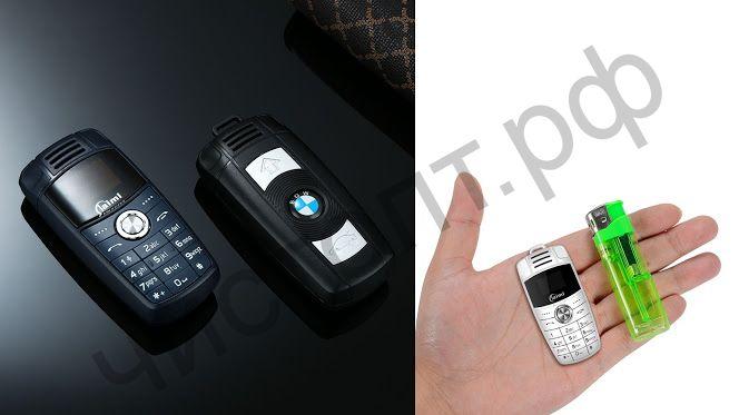 Телефон-брелок 2 симкарты BMW X6