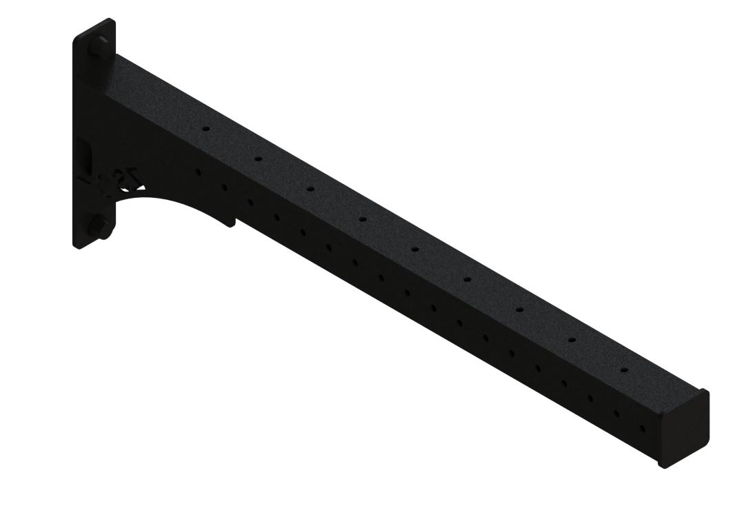 Балка выносная, перфорированная для подвесных снарядов, ZSO-1100