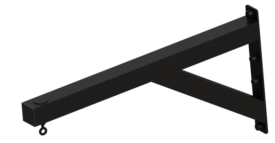 Балка выносная, перфорированная с вращающимся крюком, ZSO-1100