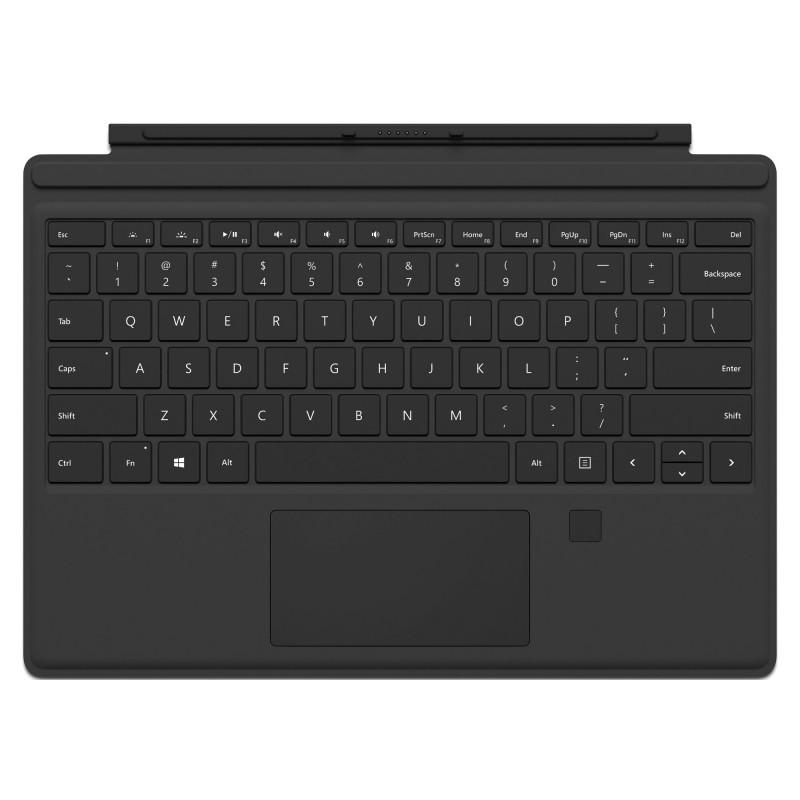 Клавиатура Microsoft Surface Pro Type Cover with Fingerprint ID (Black)