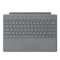 Клавиатура Microsoft Surface Pro Signature Type Cover материал Alcantara (Platinum)
