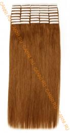 Натуральные волосы на липучках №010 (45 см)