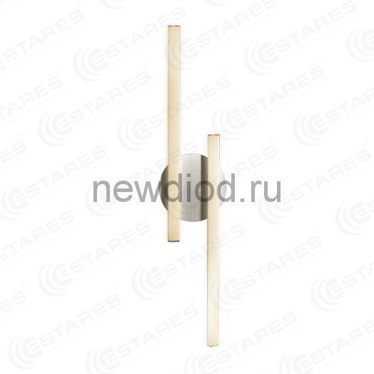 Светодиодный светильник бра ACCENT WALL 12W 2L-550-WW ALUM 220 IP20 Estares