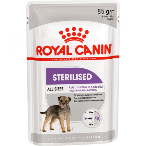 Консервы Royal Canin Sterilized Pouch Loaf паштет для стерилизованных собак 85 г