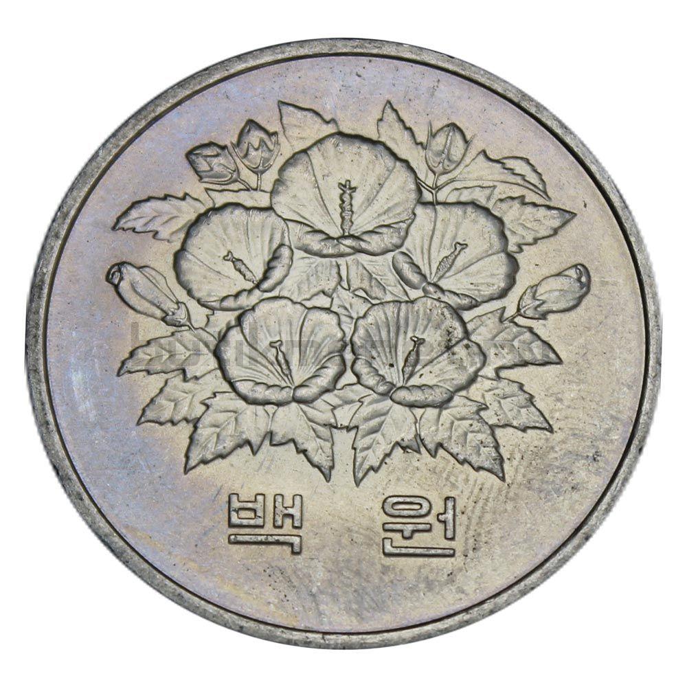 100 вон 1981 Южная Корея Первая годовщина Пятой республики