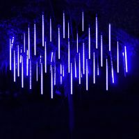 """Светодиодная гирлянда """"Тающие сосульки"""", 8 шт., Цвет Синий"""