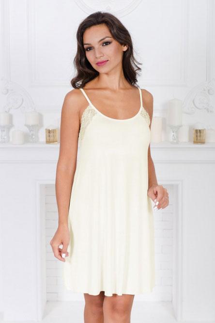 Ночная сорочка арт.0333-55 молочная, вискоза