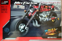 Конструктор  DECOOL Technic MecFactor Приключения на байке 3803 (Аналог LEGO Technic) 262 дет