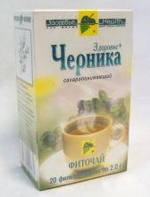 """Фиточай """"Здоровье"""" Черника 20 пак.*2 г."""
