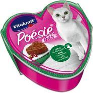 Vitakraft POESIE Консерва для кошек в желе дичь и клюква, 85г