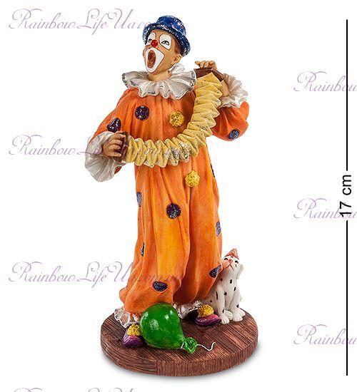 "Статуэтка клоун с гармошкой ""Veronesе"""