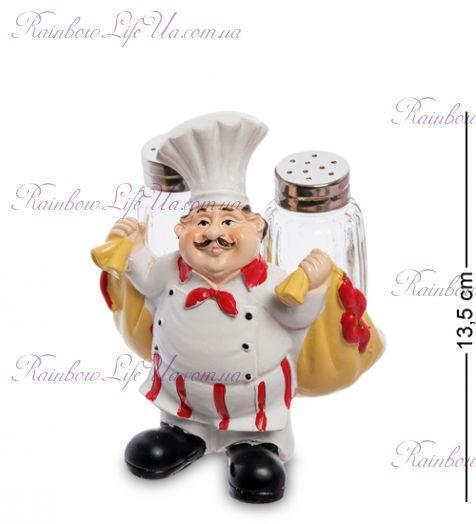 """Фигурка повар с мешкками с солонкой и перечницей """"HF"""""""