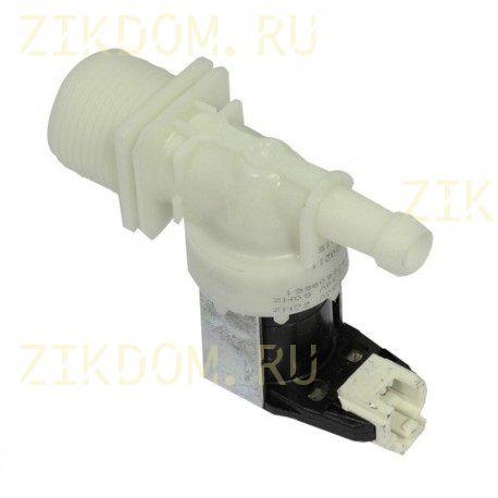 Клапан стиральной машины одинарный прямой Whirlpool 480140102032