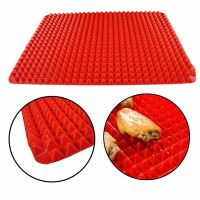 Силиконовый коврик PYRAMID PAN (ПИРАМИД ПАН), цвет красный (1)
