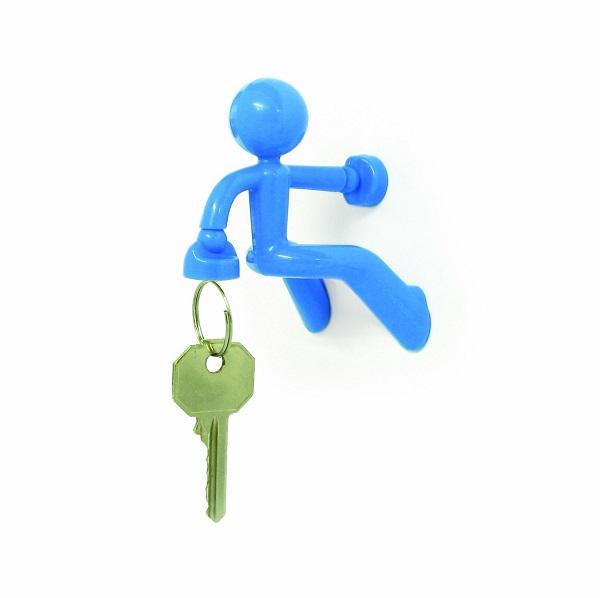 Магнитный Держатель Ключей The Magnetic Man, Цвет Голубой