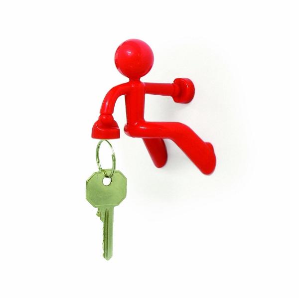 Магнитный Держатель Ключей The Magnetic Man, Цвет Красный