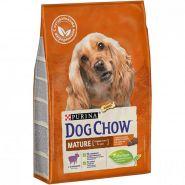 DOG CHOW Mature Adult Lamb Корм для собак старшего возраста (5-9 лет) с ягненком (2,5 кг)