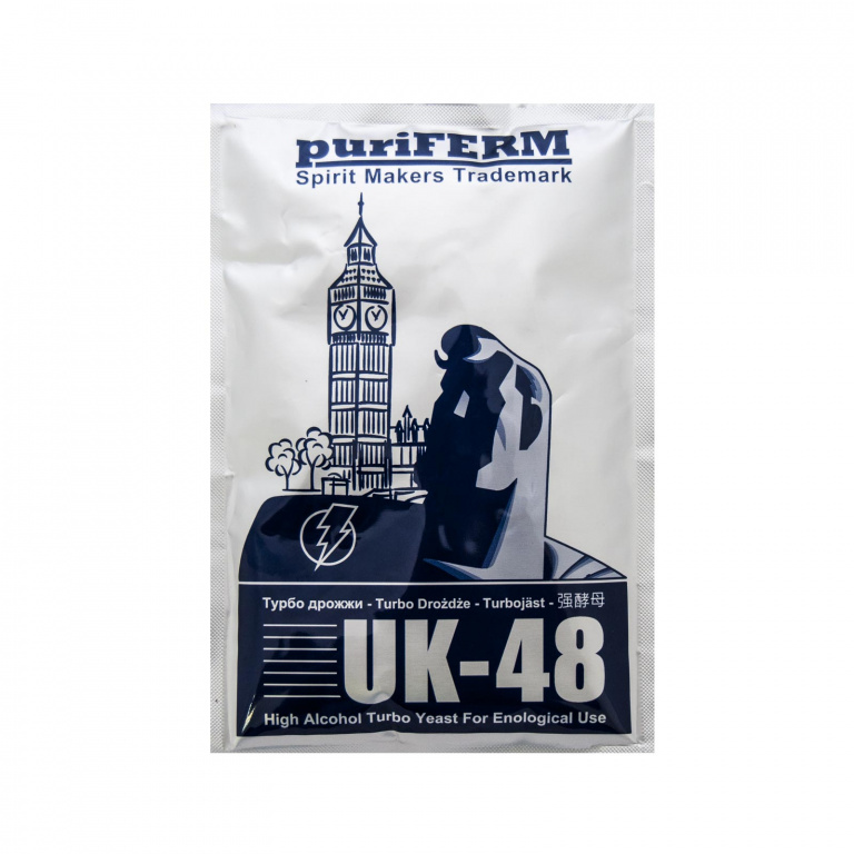 Дрожжи PuriFerm UK-48 Turbo 128 гр