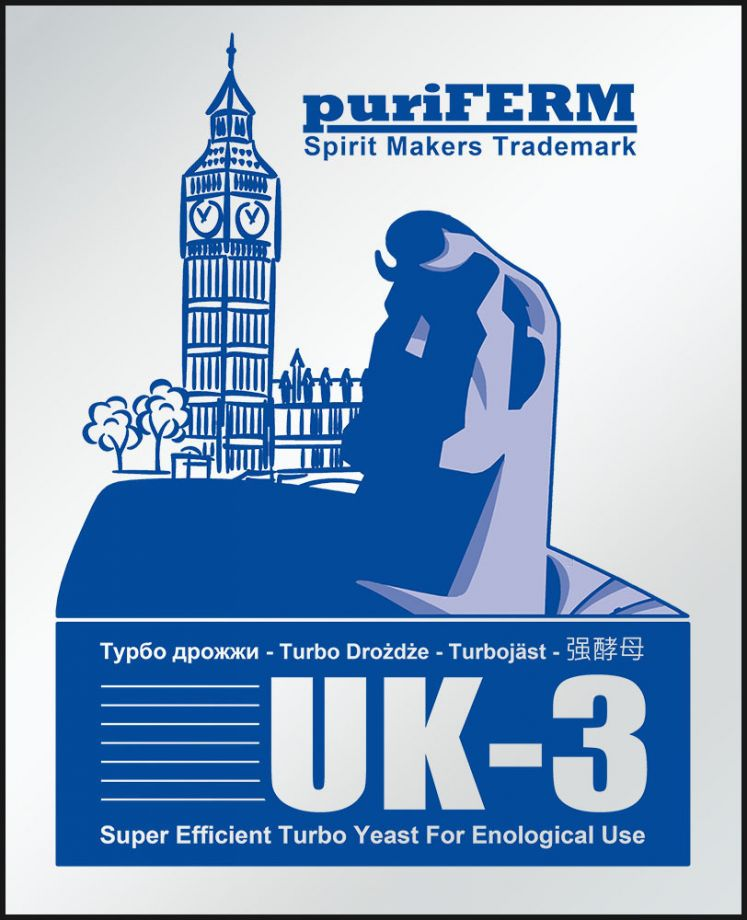 Дрожжи PuriFerm UK-3 Turbo 112 гр